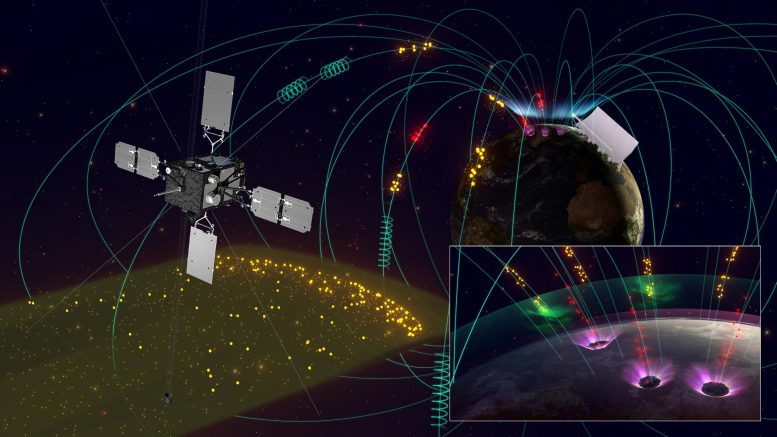 Arase Satellite Observes Chorus Waves and Energetic Electrons