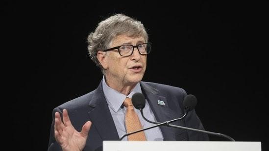 American business magnate Bill Gates congratulated India for reaching a record vaccination milestone against the coronavirus disease (Covid-19). (File Photo)