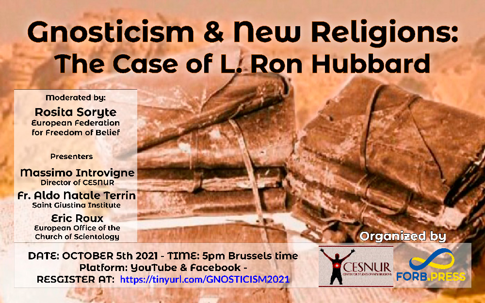 Gnosticism and New Religions: The case of L. Ron Hubbard