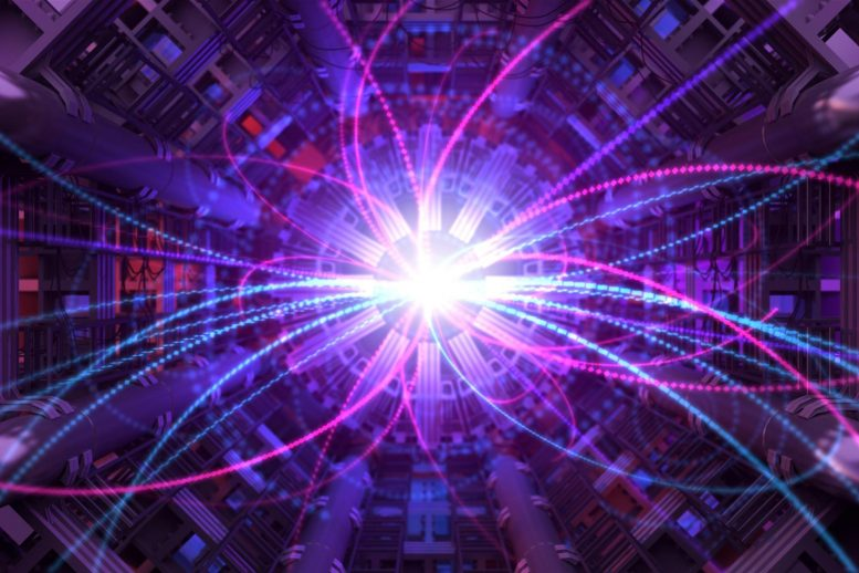 Particle Accelerator Physics Concept