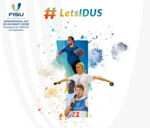 International Day of University Sport and #LetsIDUS campaign