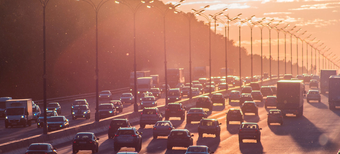 Transport is a huge driver of air pollution.